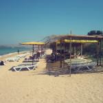 Пляж в Щелкино