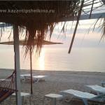 пляж возле коттеджа Казантип в Щелкино